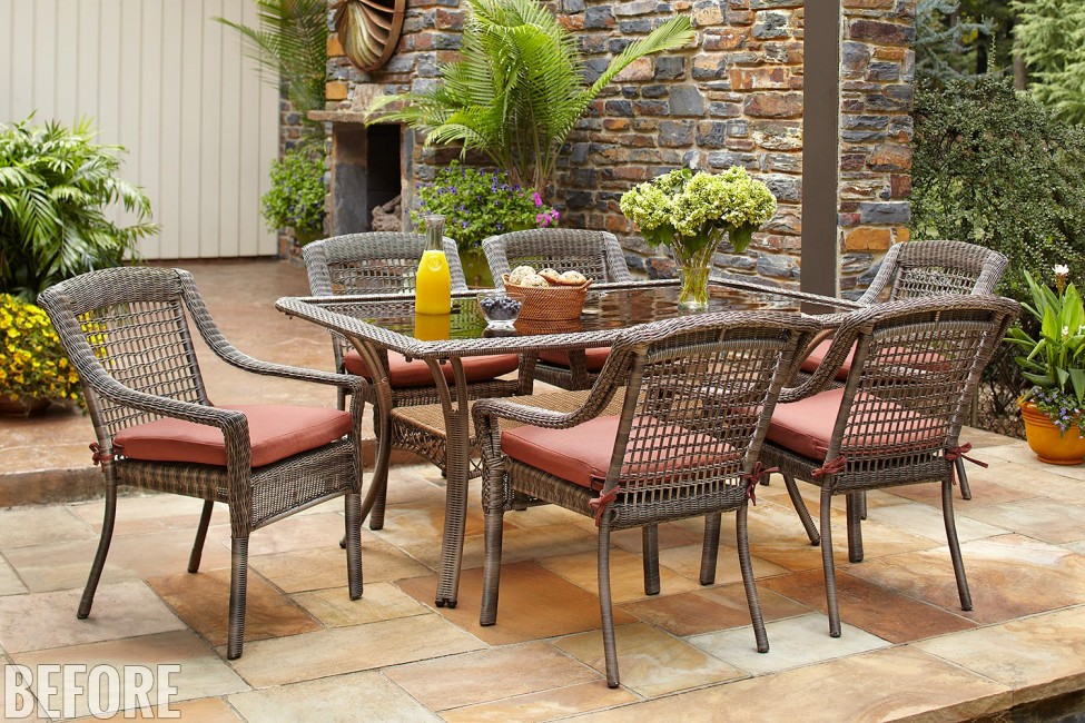 Home Depot Patio Furniture Find Patio Furniture Oxford 10 Seat Recliner Teak Garden Furniture S